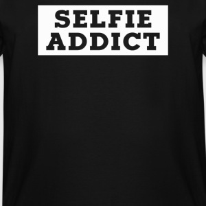 SELFIE ADDICT - Men's Tall T-Shirt