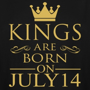 Kings are born on July 14 - Men's Tall T-Shirt