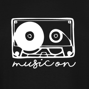 Music On ! - Men's Tall T-Shirt