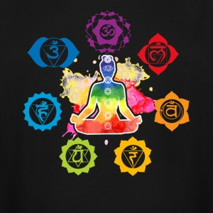 Chakra Tee Shirts - Men's Tall T-Shirt