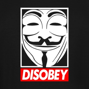 Disobey - Men's Tall T-Shirt