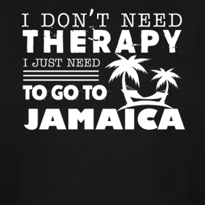 Jamaica Therapy Shirt - Men's Tall T-Shirt