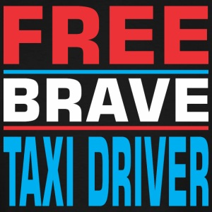 Free Brave Taxi Driver - Men's Tall T-Shirt