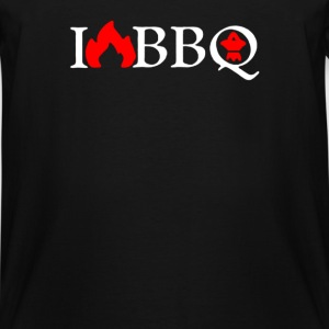 I Love BBQ - Men's Tall T-Shirt