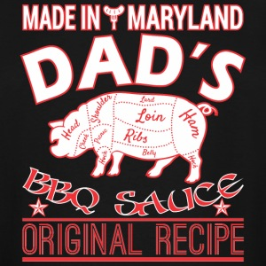 Made In Maryland Dads BBQ Sauce Original Recipe - Men's Tall T-Shirt