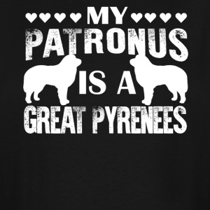 My Patronus Is A Great Pyrenees Shirt - Men's Tall T-Shirt