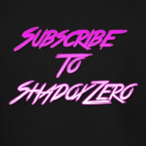 Subscribe To ShadoxZero - Men's Tall T-Shirt