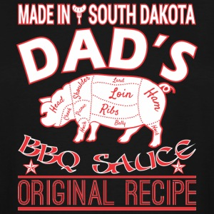 Made South Dakota Dads BBQ Sauce Original Recipe - Men's Tall T-Shirt