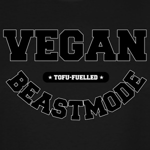 VEGANBEASTMODE - Men's Tall T-Shirt