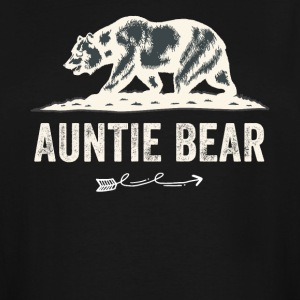 Auntie bear - Men's Tall T-Shirt