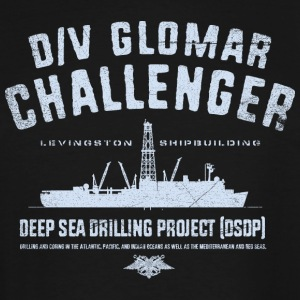 Glomar Challenger - Men's Tall T-Shirt