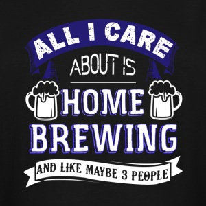 Home Brewing Shirt - Men's Tall T-Shirt