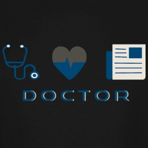 CREATIVE DESIGN || DOCTOR - Men's Tall T-Shirt