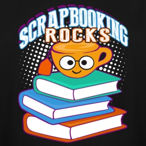 SCRAPBOOKING ROCKS SHIRT - Men's Tall T-Shirt