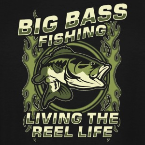 Fisher! Angler! Bass! funny! - Men's Tall T-Shirt
