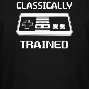Trained Classically - Men's Tall T-Shirt