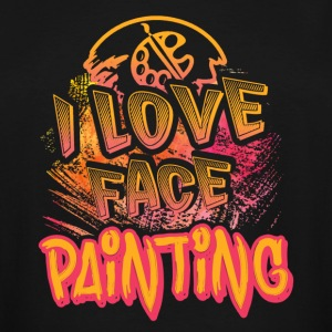 I LOVE FACE PAINTING SHIRT - Men's Tall T-Shirt