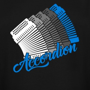 Accordion Tee Shirts - Men's Tall T-Shirt
