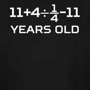 16 Years Old Algebra Equation 16th Birthday - Men's Tall T-Shirt