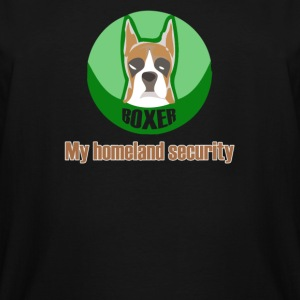 My homeland security boxer dog - Men's Tall T-Shirt