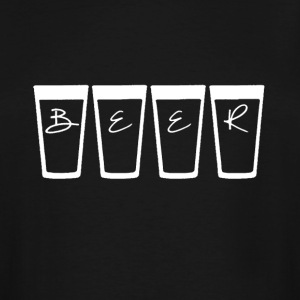 Beer Cup T-shirt - Men's Tall T-Shirt