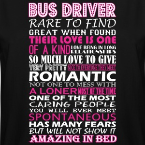 Bus Driver Rare To Find Romantic Amazing To Bed - Men's Tall T-Shirt