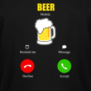 Beer Is Calling - Men's Tall T-Shirt