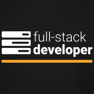 Full Stack Developer T Shirt - Men's Tall T-Shirt