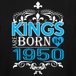 Kings Are Born In 1950 Happy Fathers Day - Men's Tall T-Shirt