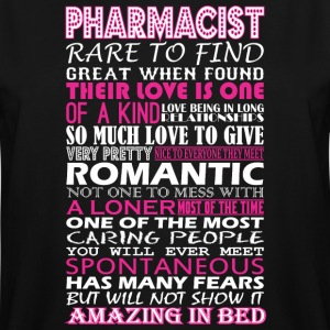 Pharmacist Rare To Find Romantic Amazing To Bed - Men's Tall T-Shirt
