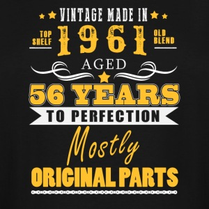 Vintage made in 1961 - 56 years to perfection (v.2017) - Men's Tall T-Shirt