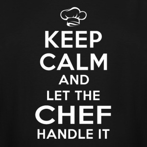Keep calm Chef T-Shirts - Men's Tall T-Shirt