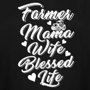 Farmer mama wife blessed life T Shirts - Men's Tall T-Shirt