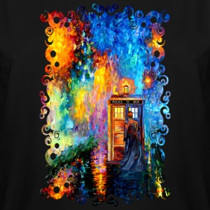 Time traveller lost in the strange city - Men's Tall T-Shirt