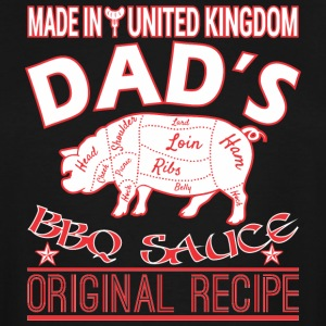 Made In United Kingdom Dads BBQ Sauce Original - Men's Tall T-Shirt
