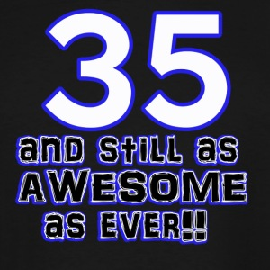 35 birthday designs - Men's Tall T-Shirt