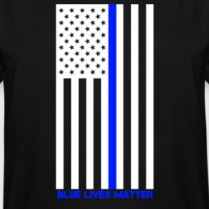 Blue Lives Matter - Men's Tall T-Shirt