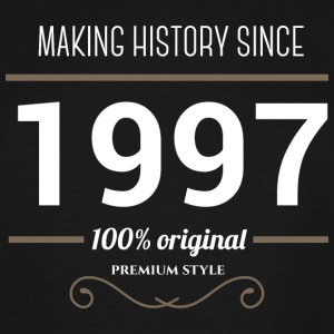 Making History since 1997 T Shirt - Men's Tall T-Shirt