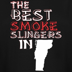 The Best Smoke Slingers In Vermont Barbecue - Men's Tall T-Shirt