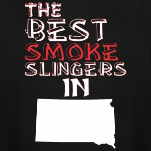 The Best Smoke Slingers In South Dakota Barbecue - Men's Tall T-Shirt
