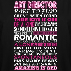 Art Director Rare To Find Romantic Amazing To Bed - Men's Tall T-Shirt