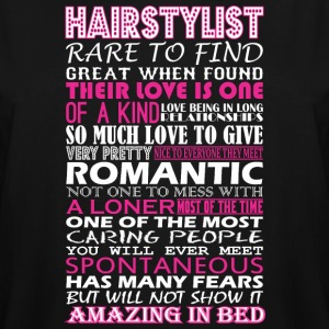 Hairstylist Rare To Find Romantic Amazing To Bed - Men's Tall T-Shirt