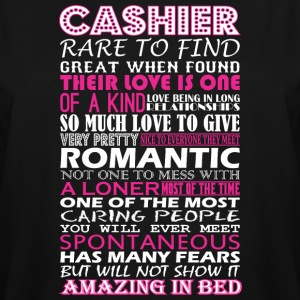 Cashier Rare To Find Romantic Amazing To Bed - Men's Tall T-Shirt
