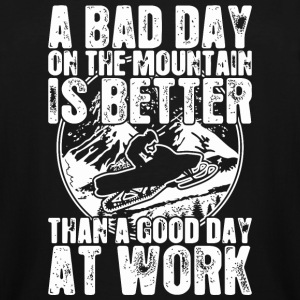 Snowmobile - Snowmobile A Bad Day On The Mountai - Men's Tall T-Shirt