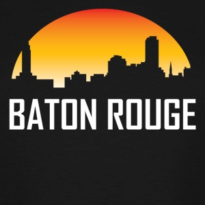 Baton Rouge Louisiana Sunset Skyline - Men's Tall T-Shirt