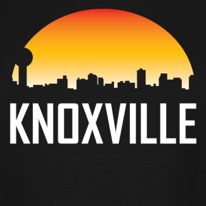 Knoxville Tennessee Sunset Skyline - Men's Tall T-Shirt