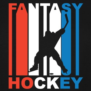 Red White And Blue Fantasy Hockey - Men's Tall T-Shirt