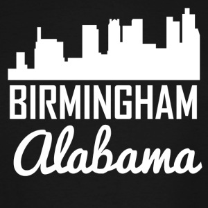 Birmingham Alabama Skyline - Men's Tall T-Shirt