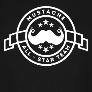 Mustache All Star Team - Men's Tall T-Shirt
