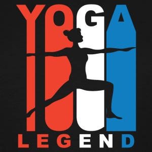 Red White And Blue Yoga Legend - Men's Tall T-Shirt